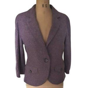 Talula Babaton wool & silk blend blazer  jacket